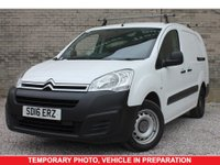 USED 2016 16 CITROEN BERLINGO 1.6 725 X L2 LWB HDI 5 Seat Crewe Cab Panel Van with Twin Side Loading Doors with Sat Nav Service History and Only One Owner from Brand New GOOD SERVICE HISTORY