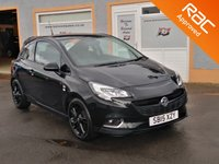 """USED 2015 15 VAUXHALL CORSA 1.4 LIMITED EDITION 3d 89 BHP 3 Service Stamps, Bluetooth, 17"""" Hurricane Alloys, LED running lights, Vx Media Centre"""