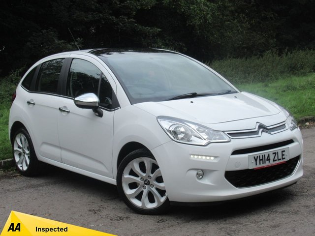 USED 2014 14 CITROEN C3 1.2 SELECTION 5d 80 BHP FULL SERVICE HISTORY, MOT MAY 2020