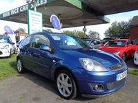2008 FORD FIESTA 1.2 ZETEC BLUE 3d 75 BHP £2495.00