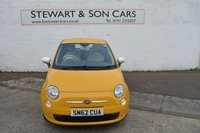 USED 2012 62 FIAT 500 1.2 COLOUR THERAPY 3d 69 BHP CHEAP CAR ONE OWNER