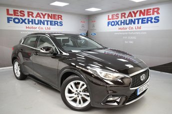 2017 INFINITI Q30 1.5 BUSINESS EXECUTIVE D 5d AUTO 107 BHP £12499.00