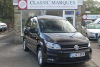 2017 VOLKSWAGEN CADDY 1.4 C20 TSI HIGHLINE BMT 1d 6 SPEED MANUAL 123 BHP £14990.00