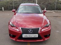 USED 2016 16 LEXUS IS 2.5 300H EXECUTIVE EDITION 4d AUTO 179 BHP ** ULEZ APPROVED **