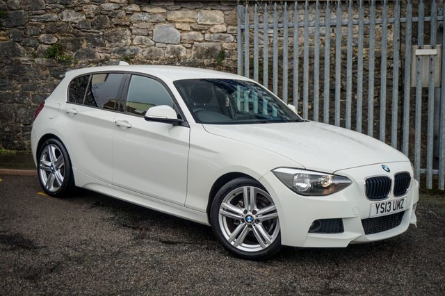 USED 2013 13 BMW 1 SERIES 2.0 118D M SPORT 5d 141 BHP