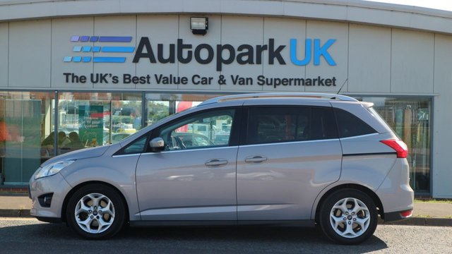 USED 2011 61 FORD GRAND C-MAX 1.6 ZETEC TDCI 5d 114 BHP LOW DEPOSIT OR NO DEPOSIT FINANCE AVAILABLE