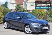 USED 2015 15 BMW 1 SERIES 2.0 118D M SPORT 3d 147 BHP SAT NAV DAB BLUETOOTH AUDIO CRUISE