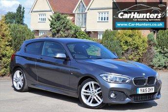 2015 BMW 1 SERIES 2.0 118D M SPORT 3d 147 BHP £10995.00