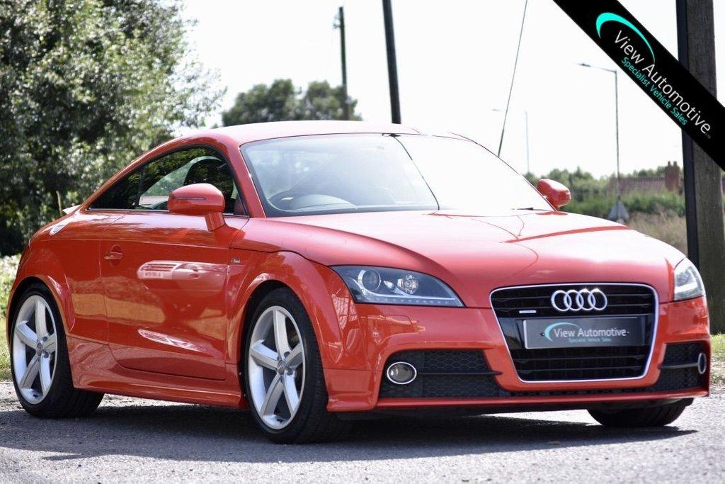 USED 2011 11 AUDI TT 2.0 TDI QUATTRO S LINE 2d 170 BHP