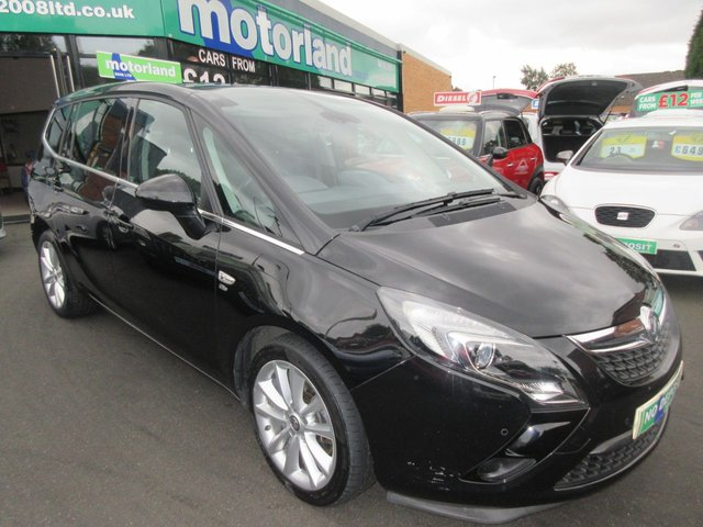 USED 2014 14 VAUXHALL ZAFIRA TOURER 2.0 ELITE CDTI 5d AUTO 162 BHP ** 01543 379066 ** JUST ARRIVED ** FULL SERVICE HISTORY **