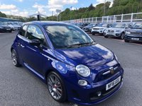 USED 2016 16 ABARTH 500 1.4 595 TRICOLORE EDITION 138 BHP Tricolore Edition with Strpes, anthracite alloys. Local car with FSH