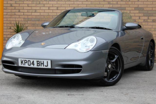 2004 04 PORSCHE 911  3.6 996 Carrera 2 Cabriolet 2dr