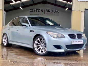 2005 BMW M5 5.0 M5 4d AUTO 501 BHP £12999.00