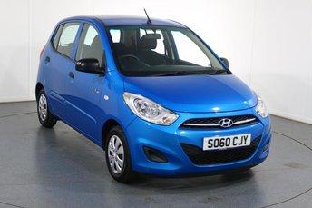2011 HYUNDAI I10 1.0 BLUE 5d 68 BHP £3495.00