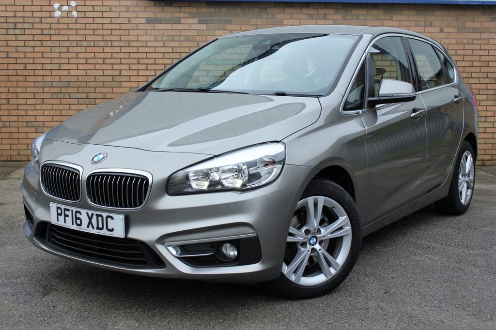 USED 2016 16 BMW 2 SERIES Active Tourer 2.0 218d Luxury Active Tourer Auto (s/s) 5dr Beautiful BMW MPV, an ideal family car offering superb comfort, luxury & performance!