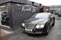 USED 2005 54 BENTLEY CONTINENTAL GT 6.0 GT 2d AUTO 550 BHP STUNNING CONDITION - 11 STAMPS TO 62K - MULLINER DRIVING PACK - QUILTED SEATS - NAV - 21 INCH ALLOYS - PRIVACY