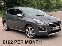 2015 PEUGEOT 3008 1.6 BLUE HDI S/S ALLURE 5d *ONLY £20 TAX* £9480.00