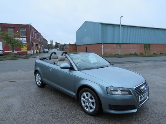 USED 2008 58 AUDI A3 1.9 TDI 2d 103 BHP A GREAT CONVERTIBLE