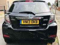 USED 2013 13 TOYOTA YARIS 1.5 VVT-h T4 5dr Full Toyota History,RearCamera