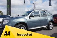 USED 2014 14 DACIA DUSTER 1.5 LAUREATE DCI 4WD 5d 109 BHP