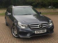 2014 MERCEDES-BENZ E CLASS 2.1 E220 BLUETEC AMG LINE 5d AUTO 174 BHP £13495.00