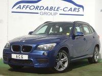 USED 2014 14 BMW X1 2.0 XDRIVE20D M SPORT 5d AUTO 181 BHP