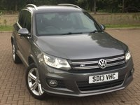 USED 2013 13 VOLKSWAGEN TIGUAN 2.0 R LINE TDI BLUEMOTION TECHNOLOGY 4MOTION 5d 139 BHP
