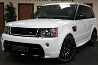 USED 2012 62 LAND ROVER RANGE ROVER SPORT 3.0 SDV6 HSE RED 5d AUTO 255 BHP