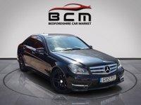 2012 MERCEDES-BENZ C CLASS 2.1 C220 CDI BLUEEFFICIENCY AMG SPORT 4d AUTO 168 BHP £7485.00