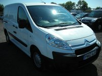 2012 CITROEN DISPATCH 1.6 1000 L1H1 HDI 90 1d 89 BHP £3500.00