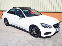 2015 MERCEDES-BENZ E CLASS 3.0 E350 BLUETEC AMG NIGHT ED PREMIUM PLUS 4d AUTO 255 BHP £SOLD