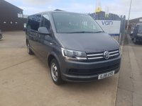 USED 2018 18 VOLKSWAGEN TRANSPORTER SHUTTLE 2.0 T32 TDI SHUTTLE SE BMT 5d AUTO 148 BHP Discover Navigation Leatherette Seat Front and rear Parking distance control dual passenger seat and privacy glass
