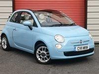 2011 FIAT 500 1.2 C POP 3d 69 BHP