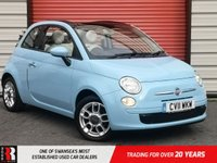 USED 2011 11 FIAT 500 1.2 C POP 3d 69 BHP Stunning Car Low Miles! Great First Car!