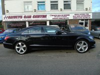 USED 2013 13 MERCEDES-BENZ CLS CLASS 3.0 CLS350 CDI BLUEEFFICIENCY 4d AUTO 265 BHP