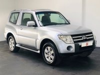 USED 2008 08 MITSUBISHI SHOGUN 3.2 GLX EQUIPPE SWB DI-D 3d AUTO 160 BHP 1 OWNER + 10 MAIN DEALER SERVICES + ONLY 77,000 MILES + AUTOMATIC