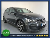 USED 2016 16 VOLKSWAGEN GOLF 2.0 GTD DSG 5d AUTO 182 BHP HISTORY - 1 OWNER - PARKING SENSORS - ULEZ OK - AIR CON - BLUETOOTH - DAB - CRUISE - 19' ALLOYS