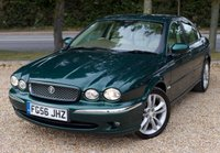 """USED 2006 06 JAGUAR X-TYPE X-TYPE 2.2 D SE 4DR SALOON/ SAT NAV/ HEATED SEATS STUNNING LOOKING JAGUAR X-TYPE 2.2D SE COMES WITH MANY EXTRAS! SAT NAV/ CRUISE CONTROL/ HEATED SEATS/ ELECTRIC SEATS/ MEDIA SCREEN/ LEATHER SEATS/ PARKING SENSORS/ FULL MAIN DEALER SERVICE HISTORY/ +NEW SERVICE/ MOT 12/08/2020/ WARRANTY/ 2 KEYS/ HPI CLEARED/   BOOK A TEST DRIVE TODAY! APPLY FOR A CAR FINANCE ON OUR WEBSITE PAGE """"FINANCE""""."""