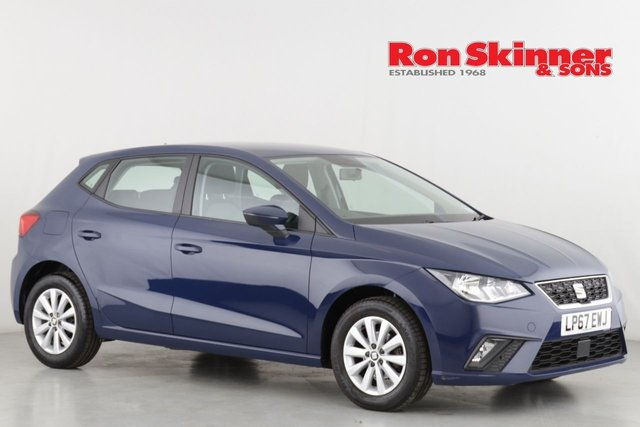 View our 2018 67 SEAT IBIZA 1.0 TSI SE 5d 94 BHP