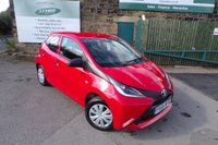 USED 2016 66 TOYOTA AYGO 1.0 VVT-I X 5d 69 BHP ONE Owner FULL Toyota Service History