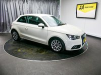 USED 2012 12 AUDI A1 1.6 TDI SPORT 3d 103 BHP £0 DEPOSIT FINANCE AVAILABLE, AIR CONDITIONING, AUX INPUT, BLUETOOTH CONNECTIVITY, CLIMATE CONTROL, HEATED DOOR MIRRORS, START/STOP SYSTEM, STEERING WHEEL CONTROLS, TRIP COMPUTER, VOICE CONTROLS
