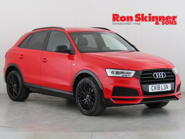 View our 2018 18 AUDI Q3 1.4 TFSI BLACK EDITION 5d AUTO 148 BHP