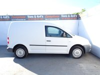 USED 2007 VOLKSWAGEN CADDY 2.0 C20 SDI 1d 68 BHP VOLKSWAGEN CADDY C20..NO VAT PLY LINED