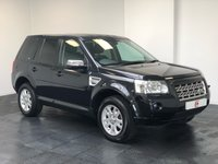USED 2007 57 LAND ROVER FREELANDER 2 2.2 TD4 XS 5d AUTO 159 BHP VERY LOW MILES + AUTOMATIC + BLACK WITH PRIVACY GLASSFIN
