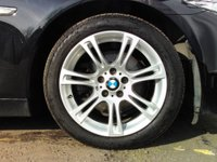 USED 2013 13 BMW 5 SERIES 2.0 520d M Sport 4dr 1 OWNER+SAT NAV+BLUETOOTH
