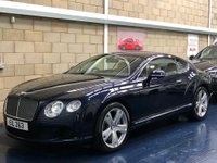 USED 2012 BENTLEY CONTINENTAL 6.0 W12 GT Coupe 2dr Petrol Auto 4WD (575 ps) +FULL SERVICE+WARRANTY+FINANCE