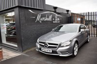 USED 2012 62 MERCEDES-BENZ CLS CLASS 2.1 CLS250 CDI SPORT AMG 4d AUTO 204 BHP LOVELY EXAMPLE - 6 SERVICE STAMPS TO 62K - LEATHER - NAV - HEATED SEATS - CRUISE - AMG ALLOY WHEELS - 50+ MPG