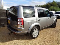 USED 2013 62 LAND ROVER DISCOVERY 3.0 4 SDV6 COMMERCIAL 3d AUTO 255 BHP
