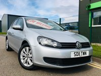 2011 VOLKSWAGEN GOLF 1.4 MATCH TSI 5 DOOR HATCH with low miles and full service history £5995.00