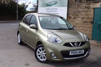 USED 2014 64 NISSAN MICRA 1.2 ACENTA 5d 79 BHP One Owner ONLY 26k With FULL Nissan Service History